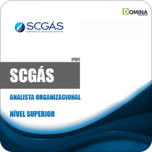 Apostila Concurso SCGás 2019 Analista Organizacional