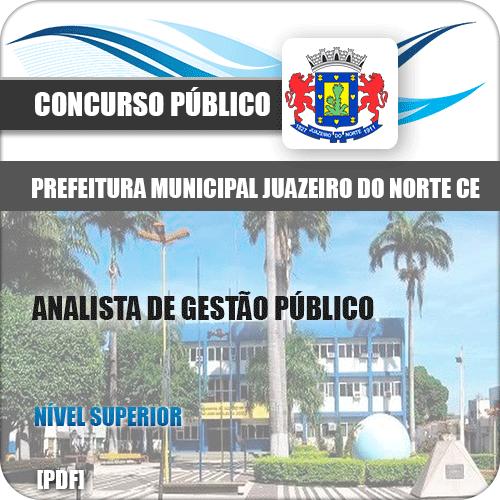 Apostila Juazeiro do Norte CE 2019 Analista de Gestão Pública