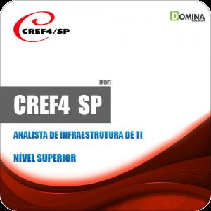 Apostila CREF 4 Região SP 2019 Analista de Infraestrutura de TI