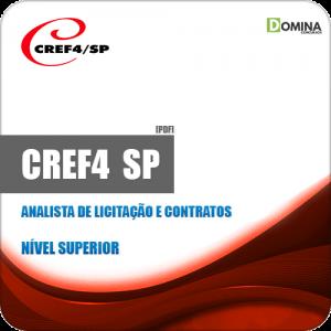 Apostila CREF 4 Região SP 2019 Analista de Licitação e Contrato