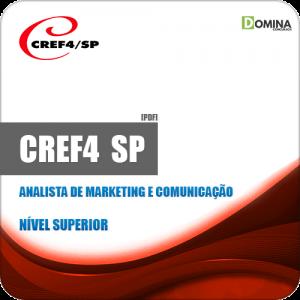 Apostila CREF 4 Região SP 2019 Analista Marketing e Comunicação