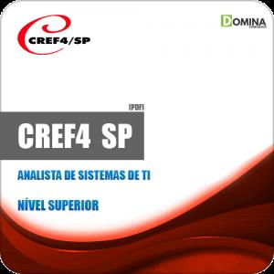 Apostila Concurso CREF 4 Região SP 2019 Analista de Sistemas de TI
