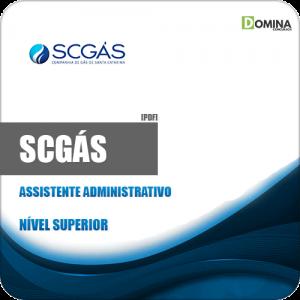 Apostila Concurso SCGás 2019 Assistente Administrativo