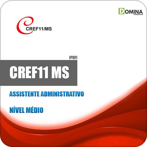 Apostila Concurso CREF MS 2019 Assistente Administrativo