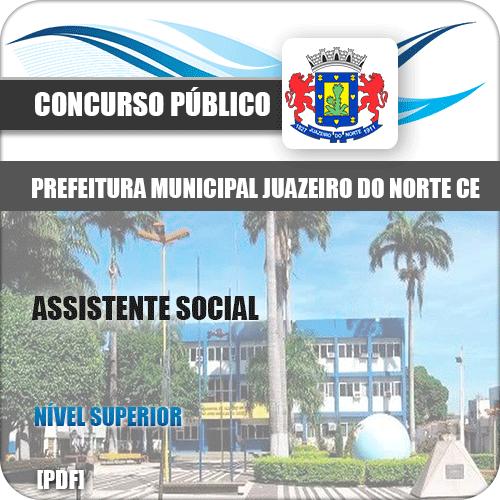 Apostila Concurso Juazeiro do Norte CE 2019 Assistente Social