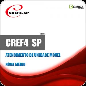 Apostila CREF 4 Região SP 2019 Atendente de Unidade Móvel