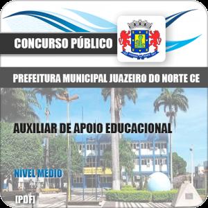 Apostila Juazeiro do Norte CE 2019 Auxiliar de Apoio Educacional