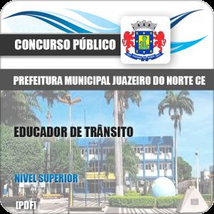 Apostila Pref Juazeiro do Norte CE 2019 Educador de Trânsito