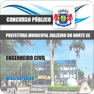 Apostila Concurso Juazeiro do Norte CE 2019 Engenheiro Civil