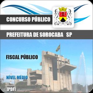 Apostila Concurso Prefeitura Sorocaba SP 2019 Fiscal Público