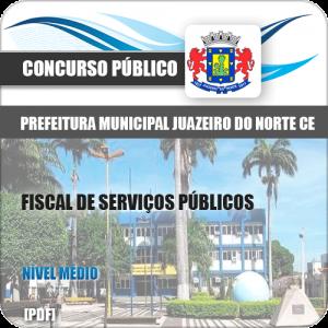 Apostila Juazeiro do Norte CE 2019 Fiscal de Serviços Públicos