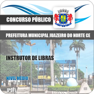 Apostila Juazeiro do Norte CE 2019 Instrutor de Libras