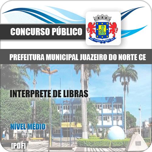 Apostila Juazeiro do Norte CE 2019 Interprete de Libras