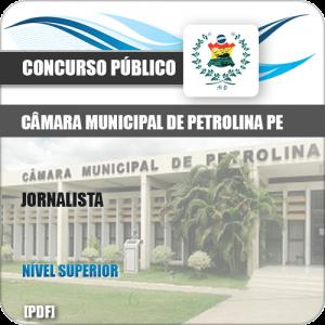 Apostila Concurso Câmara Petrolina PE 2019 Jornalista
