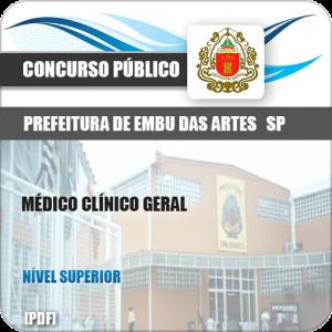 Apostila Embu das Artes SP 2019 Médico Clínico Geral