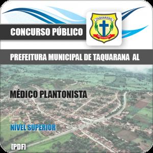 Apostila Prefeitura Taquarana AL 2019 Médico Plantonista