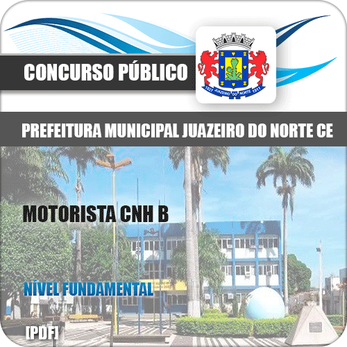 Apostila Concurso Juazeiro do Norte CE 2019 Motorista CNH B