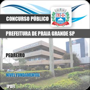 Apostila Concurso Prefeitura Praia Grande SP 2019 Pedreiro