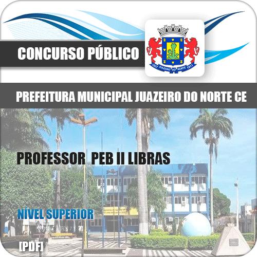 Apostila Juazeiro do Norte CE 2019 Professor PEB II Libras