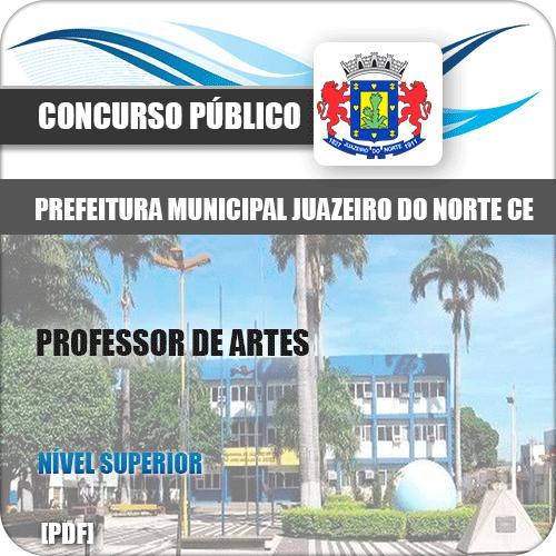 Apostila Prefeitura Juazeiro do Norte CE 2019 Professor de Artes