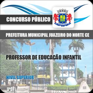 Apostila Juazeiro do Norte CE 2019 Professor de Educação Infantil
