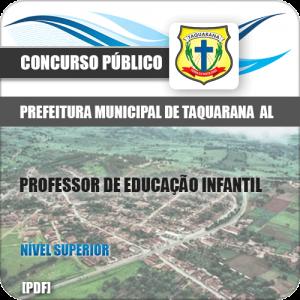 Apostila Pref Taquarana AL 2019 Professor de Educação Infantil