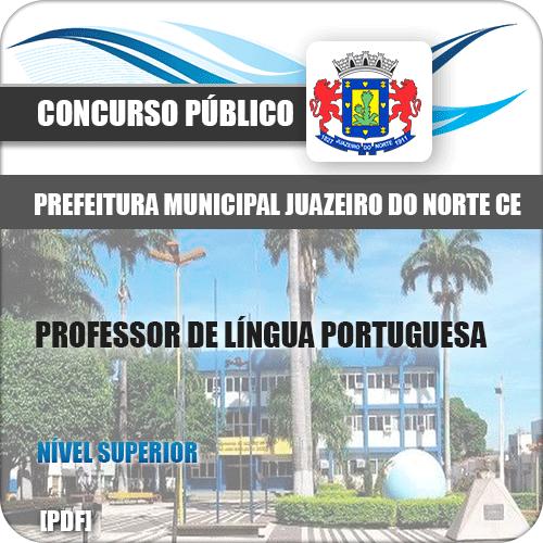 Apostila Juazeiro do Norte CE 2019 Professor de Língua Portuguesa