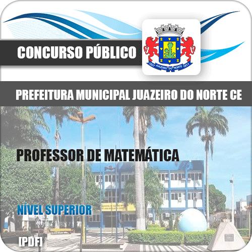 Apostila Juazeiro do Norte CE 2019 Professor de Matemática