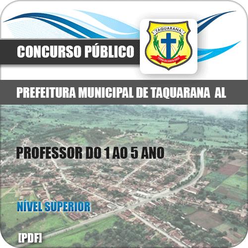 Apostila Pref Taquarana AL 2019 Professor 1 ao 5 Ano