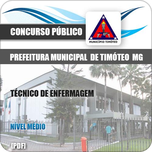 Apostila Prefeitura Timóteo MG 2019 Técnico de Enfermagem