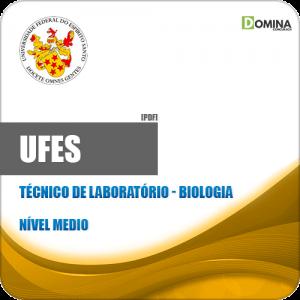 Apostila Concurso UFES 2019 Técnico de Laboratório Biologia