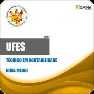 Apostila Concurso UFES 2019 Técnico em Contabilidade