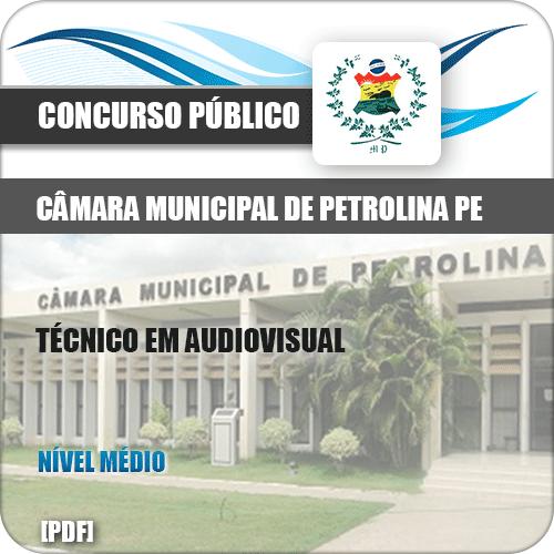 Apostila Câmara Petrolina PE 2019 Técnico em Audiovisual