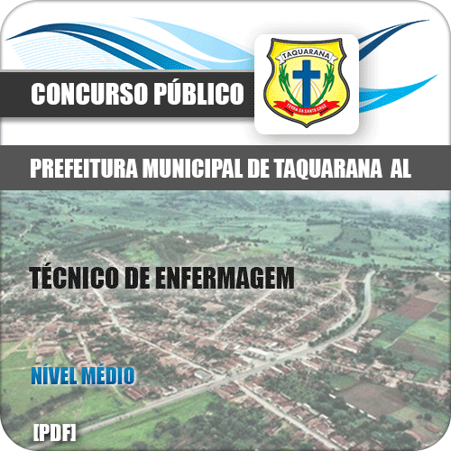 Apostila Prefeitura Taquarana AL 2019 Técnico de Enfermagem
