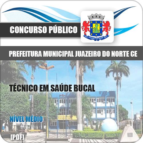 Apostila Juazeiro do Norte CE 2019 Técnico em Saúde Bucal