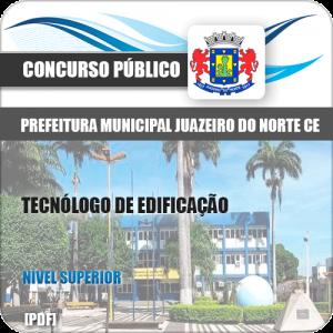 Apostila Juazeiro do Norte CE 2019 Tecnólogo de Edificações