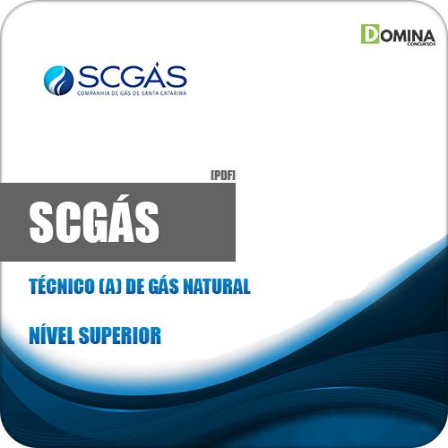 Apostila Concurso SCGás 2019 Técnico de Gás Natural