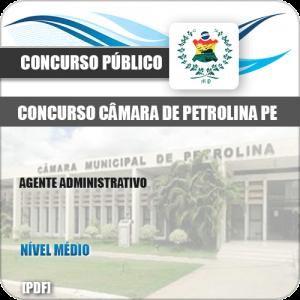 Apostila Câmara Petrolina PE 2019 Agente Administrativo