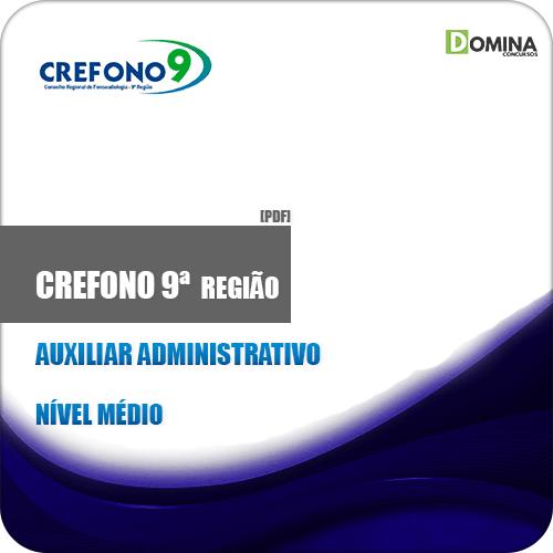 Apostila CREFONO 9ª Região 2019 Auxiliar Administrativo