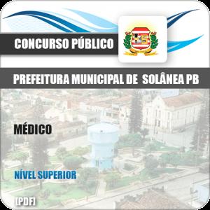 Apostila Concurso Pref de Solânea PB 2019 Médico