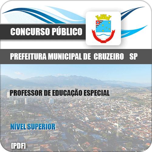 Apostila Pref Cruzeiro SP 2019 Prof Educação Especial