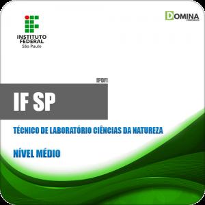 Apostila IFSP 2019 Técnico Laboratório Ciências Natureza
