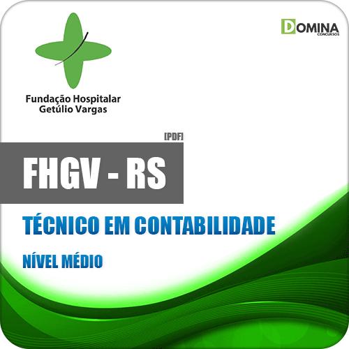 Apostila FHGV RS 2019 Técnico em Contabilidade