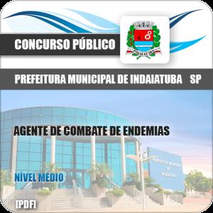 Apostila Pref Indaiatuba SP 2019 Agente Combate Endemias