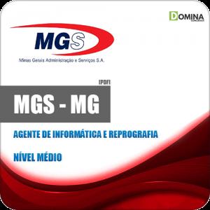 Apostila MGS MG 2019 Agente Informática Reprografia