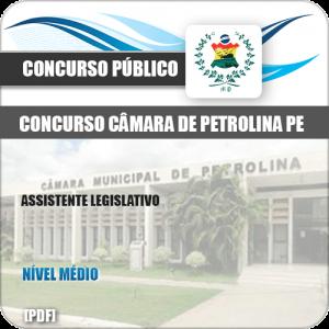 Apostila Câmara Petrolina PE 2019 Assistente Legislativo