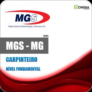 Apostila Concurso MGS MG 2019 Carpinteiro