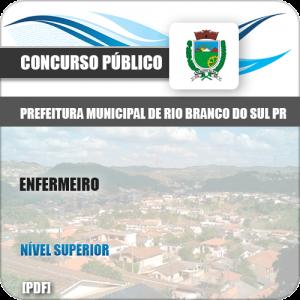 Apostila Pref Rio Branco Sul PR 2019 Enfermeiro