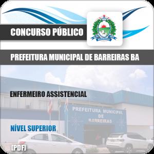 Apostila Pref Barreiras BA 2019 Enfermeiro Assistencial