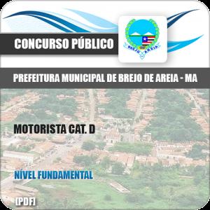 Apostila Pref Brejo de Areia MA 2019 Motorista Cat. D